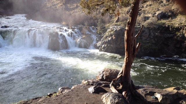 Waterfall at Steelhead Falls, OR